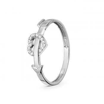 GOLD RING WITH DIAMONDS - КМ0018